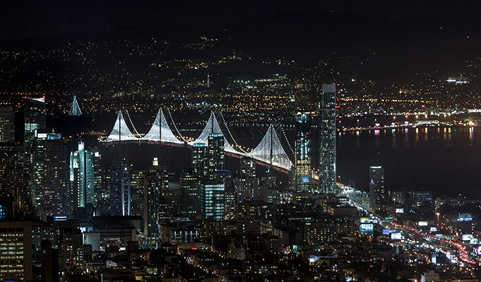 San Francisco Bay Lights