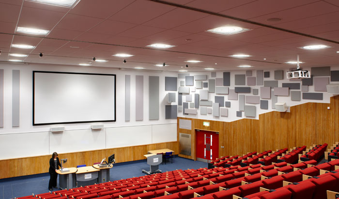 Hörsaal der University of Surrey